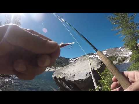 Fly Fishing For Brookies At Dick's Lake (Desolation Wilderness)