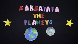 Stop Motion Movie Learn To Spell With Barbapapa Alphabet - The Planets
