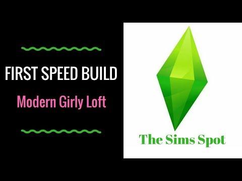 MY FIRST SPEED BUILD | Modern Girly Loft