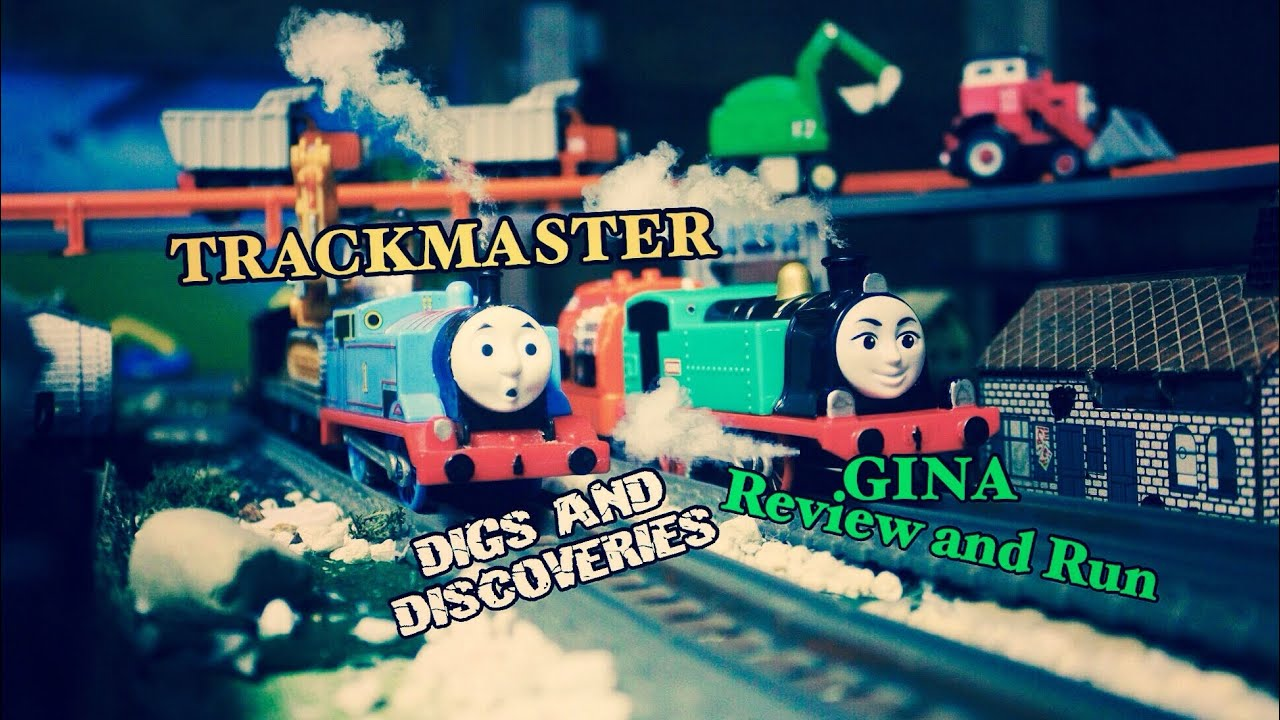 Trackmaster Hard At Work Pack Review! | New For 2019! | Digs and ...