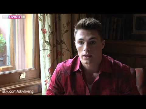 Sky Living Interviews Colton Haynes
