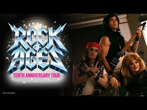 A Sneak Peek at the Tenth Anniversary Tour  Rock of Ages