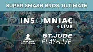 Insomniac Games PLAY LIVE - Smash Bros Ultimate Tourney