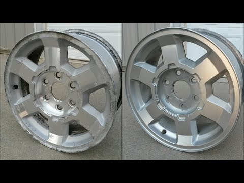 Pitted Aluminum Wheel Restoration/PaintingHow To17