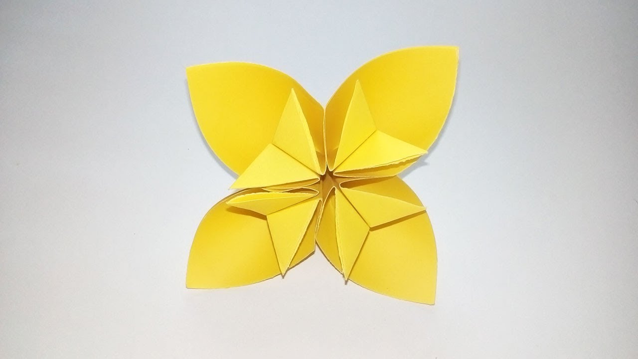Easy Origami Kusudama Flower How To Make A Kusudama Paper Flower