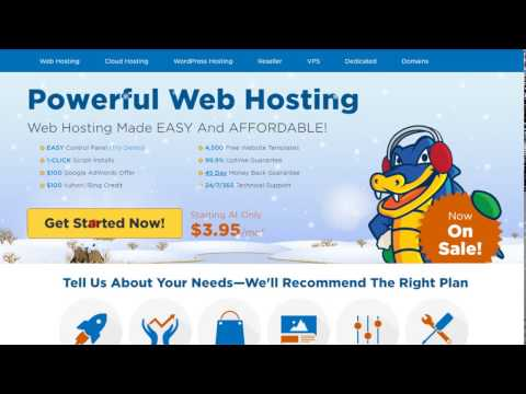 Tutorial - How to signup with Hostgator Web Hosting