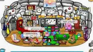 My house is full of strangers in cp club penguin clubpenguin