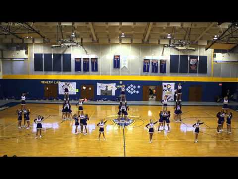 Castle North Middle School Fall Pep Assembly 2014