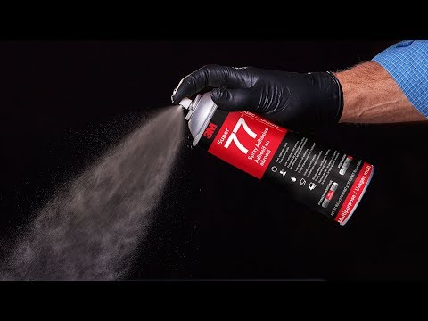 The 3M™ Spray Adhesive advantage