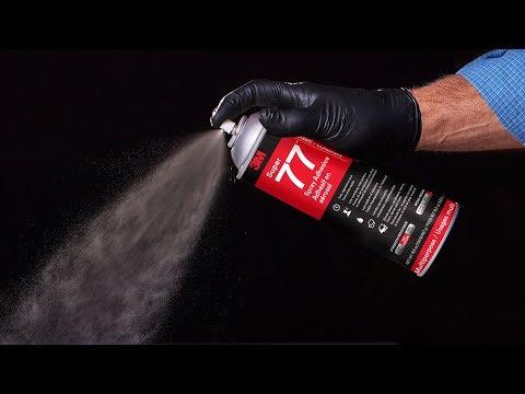 The 3M™ Spray Adhesive advantage