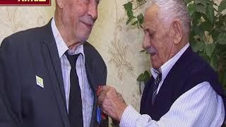 награждение ветерана труда Шапи Османова