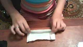 Как сделать бумажную дудочку