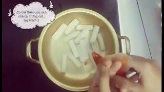 Tèobokki: Hướng dẫn nấu tteokbokki ăn liền cực nhanh