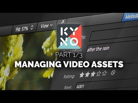 Video Assets Management for Filmmakers - Kyno (1/3)