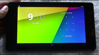 Nexus 7 (2013) pattern forgot ! Unlock in easy steps