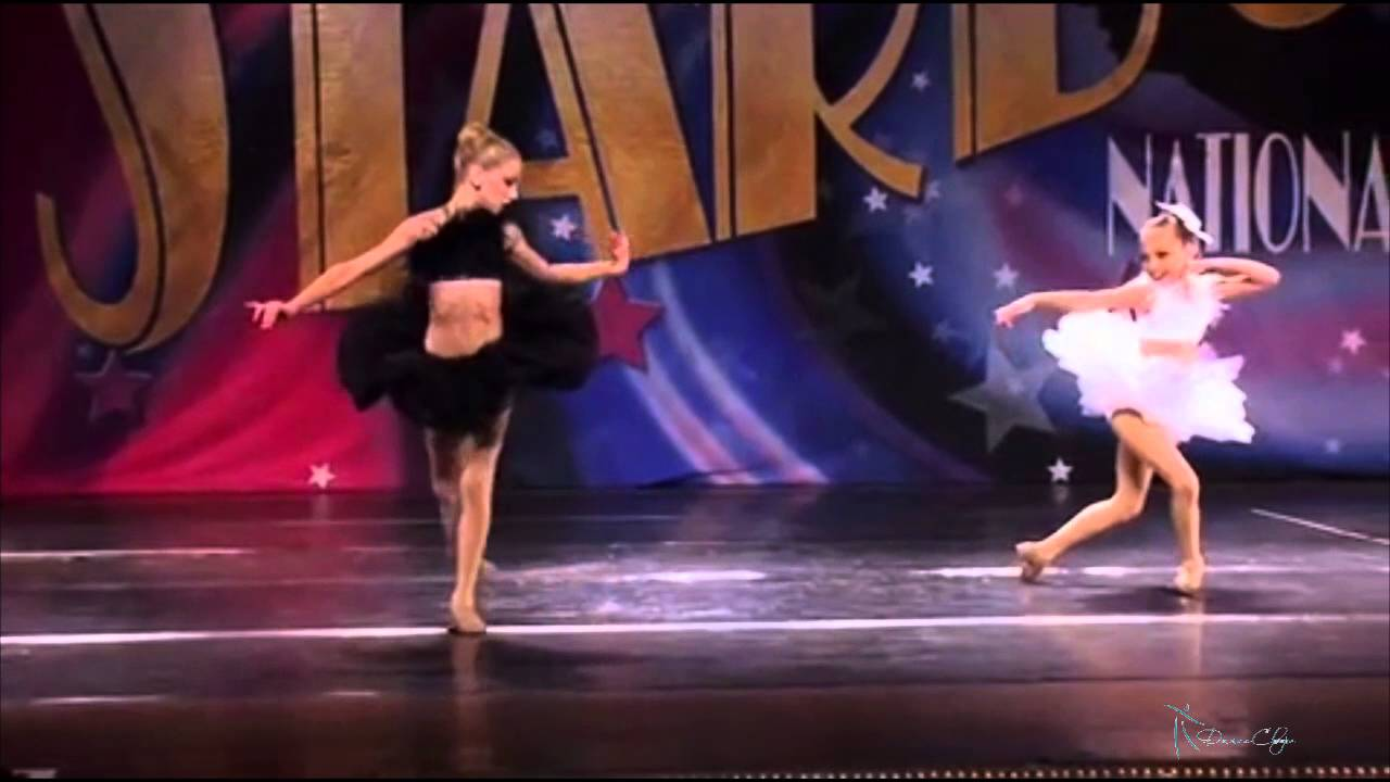 Full Black Swan Duet - Chloe Lukasiak and Maddie Ziegler ...