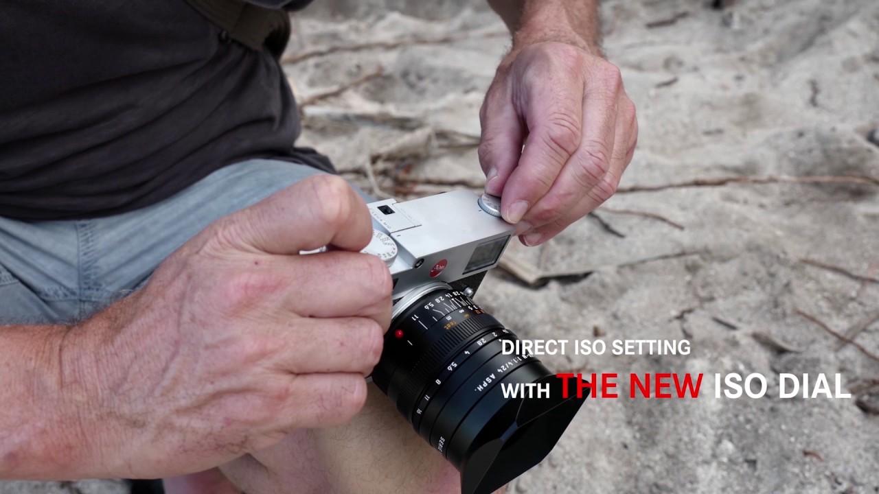Leica M10 ISO Dial
