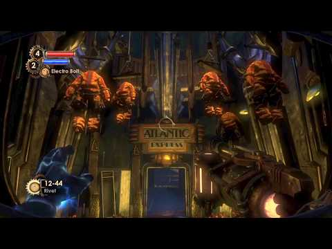 OnDavidsBrain Walkthrough BioShock 2 HD 100% Run Pt2: The Atlantic Express