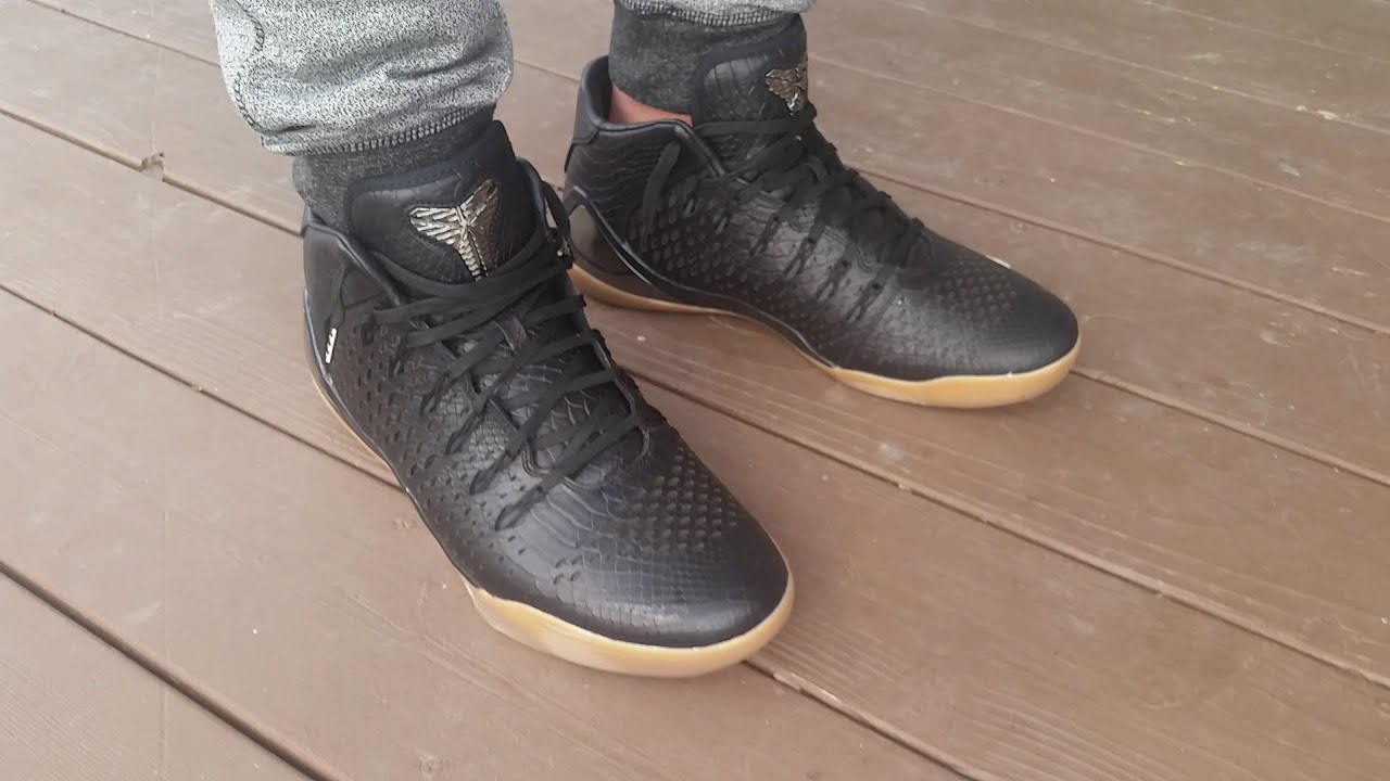 6c95c2367512 australia kobe 9 mid ext snakeskin on foot youtube a2ef0 41d9f