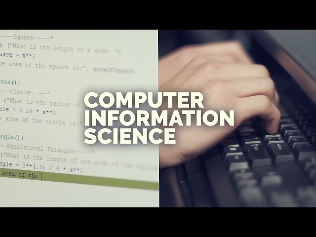 OTC Tech Ed Showcase - Computer Information Science