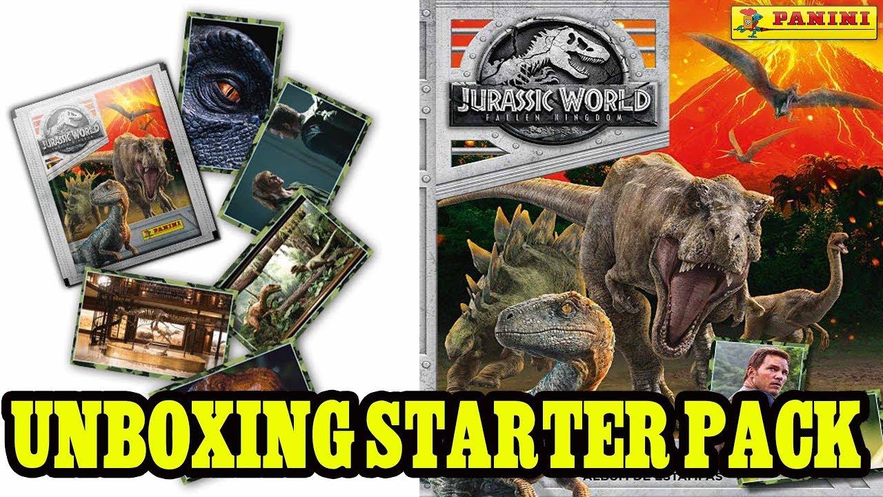 PANINI-Jurassic World Movie 2-carte 4