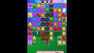 Candy Crush Saga Level 410 iPhone No Boosts