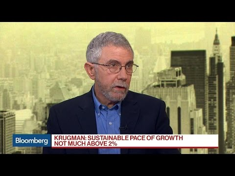 Economist Paul Krugman Says Tax Cuts Not Important Now