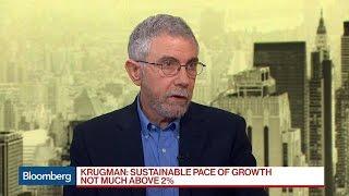 Economist Paul Krugman Says Tax Cuts Not Important Now