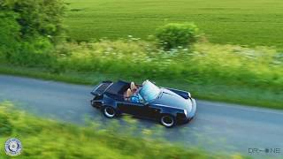 Driving through The Cotswolds in a 1988 Porsche 911 Supersports
