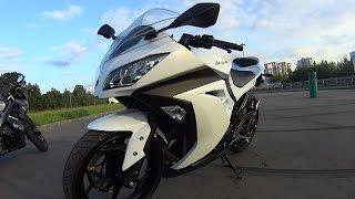 Kawasaki Ninja 300 разгонная динамика!!!