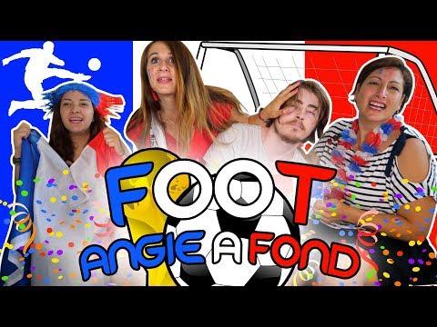 ON A GAGNÉ LA COUPE DU MONDE DE FOOT : ANGIE A FOND!!!  ANGIE LA CRAZY SÉRIE