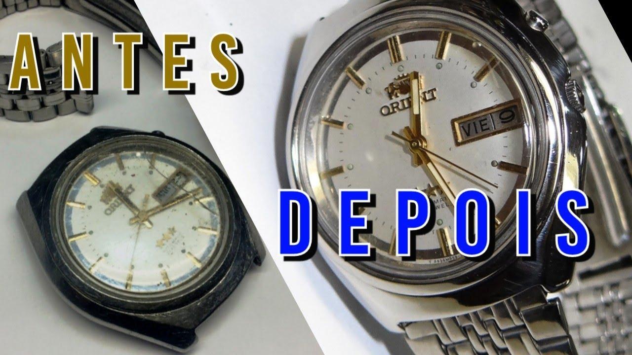 e021114d0e1 Restauração e Manutenção de Relógio - YouTube