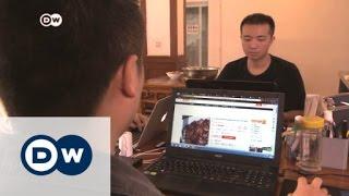 طلب الطعام عبر الإنترنت في الصين   الأخبار