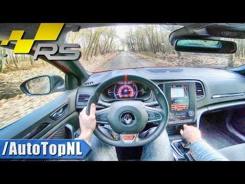 Renault Megane RS 2019 MANUAL | POV Test Drive by AutoTopNL