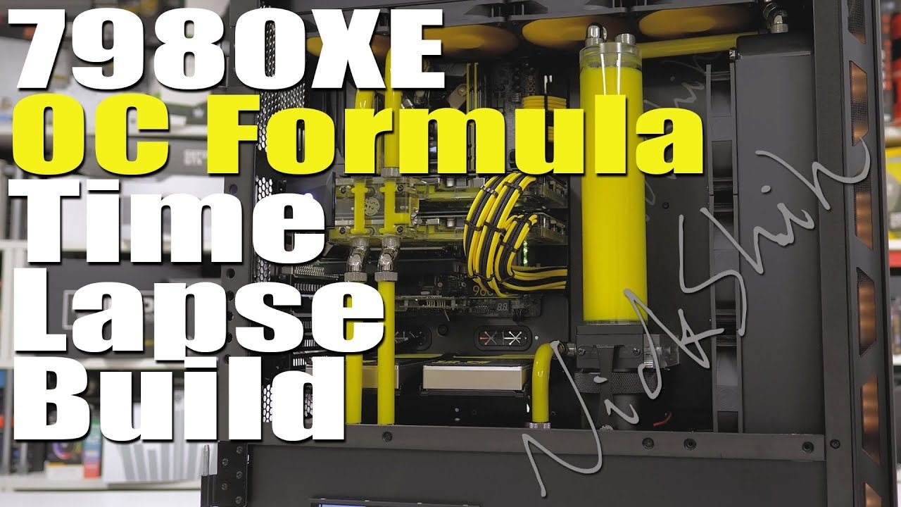 Bringing back the classic ASRock OC Formula - X299 OCF Time-Lapse Build