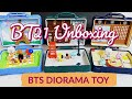 UNBOXING: BTS BT21 WORLD TOUR UK JAPAN FRANCE DIORAMA TOY - Collectible Figures