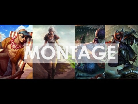 Montage (Riven,Zed,Lee Sin,Yasuo) League of Legends