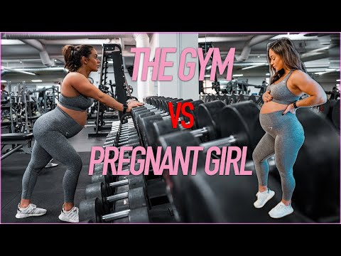 PREGNANT GIRL vs. THE GYM No excuses!