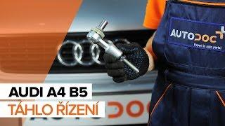 Jak vyměnit Brzdové obloženie на AUDI A4 (8D2, B5) - online zdarma video