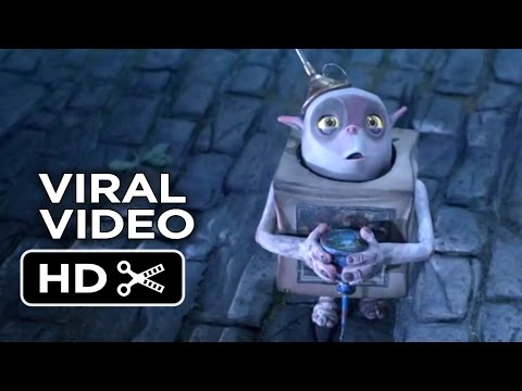 The Boxtrolls VIRAL VIDEO - Meet Oil Can (2014) - Stop-Motion Animated Movie HD