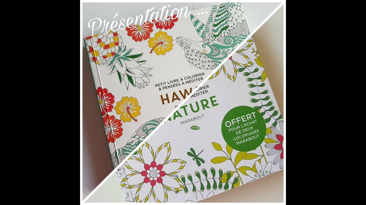 Coloriage Adulte Marabout.Presentation Livres Nature Et Hawai Petit Livre A Colorier Aux