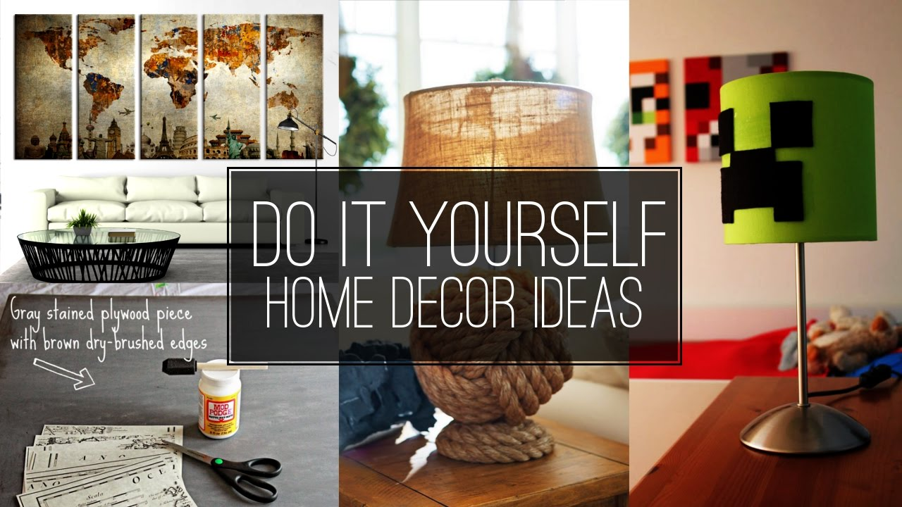home decorating ideas youtube 6 do it yourself home d 233 cor ideas 11339
