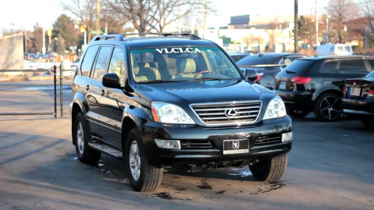 2006 Lexus GX 470 - Village Luxury Cars Toronto - YouTube