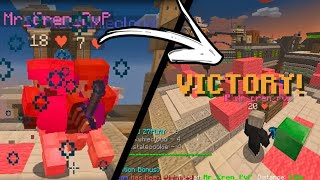 Meu teammate salvou a partida!! | Bedwars Lucky Blocks | Z7PLAY