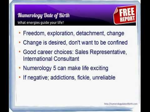 Numerology 5 Numerology 5 Meaning Youtube