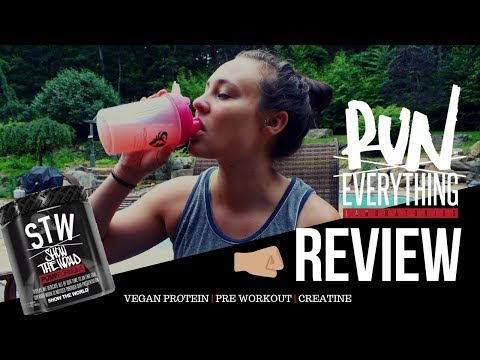 RUN EVERYTHING LABS REVIEW | STW PRE-WORKOUT + VEGAN PROTEIN + CREATINE