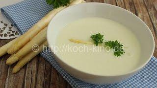 Spargelcremesuppe- lecker, aromatisch, einfach selber machen