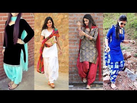 Punjabi patiala salwar party wear / Indian Pakistani stitched💝