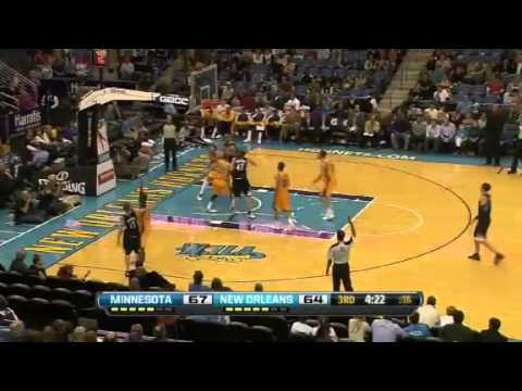 NBA December 14 2012: New Orleans Hornets vs Minnesota Timberwolves Highlights