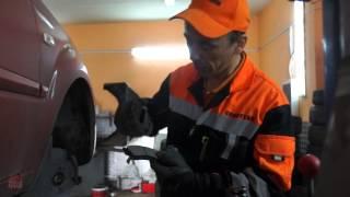 Испытание тормозных колодок Quattro Freni завода МарКон